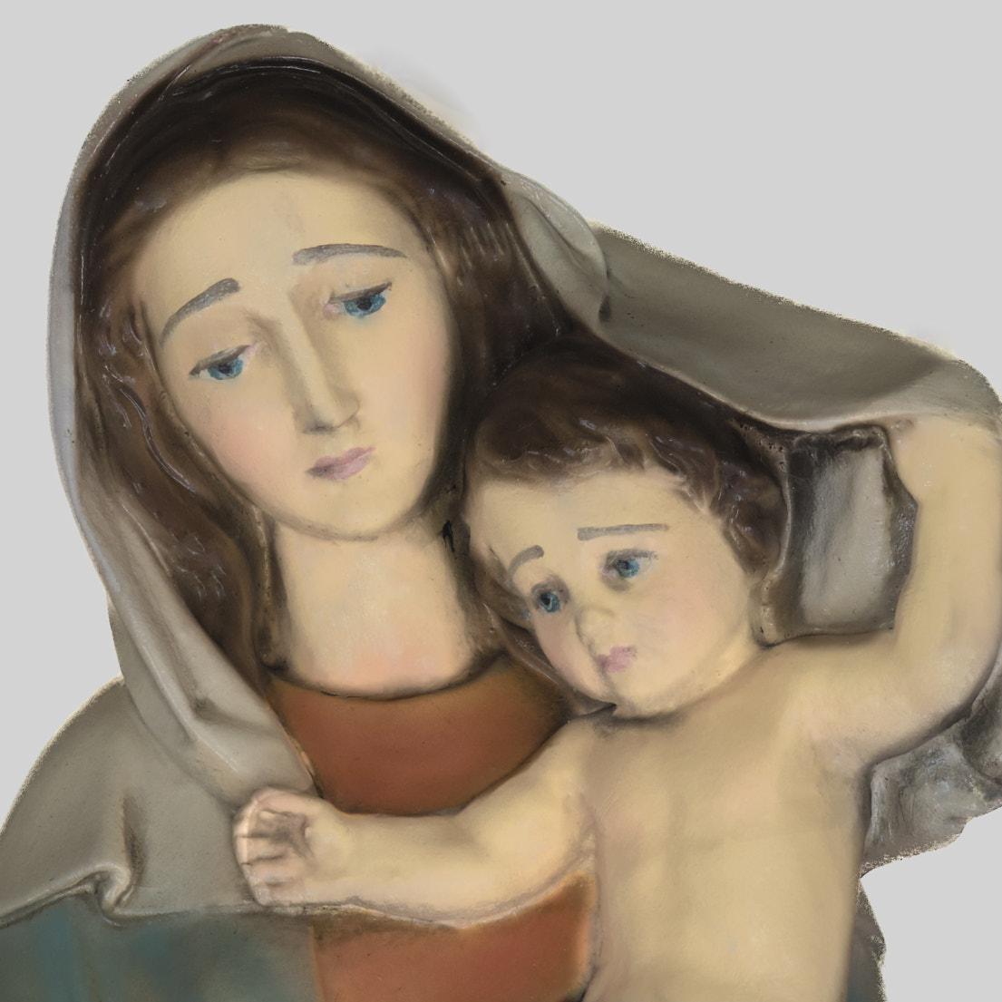 Boekje met Maria-portretten