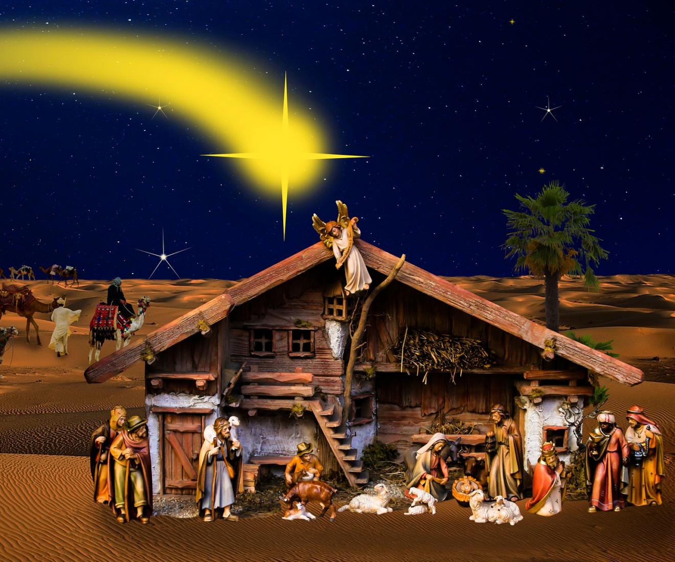 Lezing: Het verhaal van de kerststal