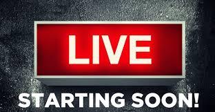 livestream coming soon